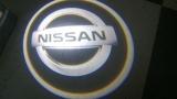 LED Car Door Laser Logo Projector Ghost Shadow Lights-Nissan