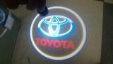 LED Car Door Laser Logo Projector Ghost Shadow Lights-Toyota
