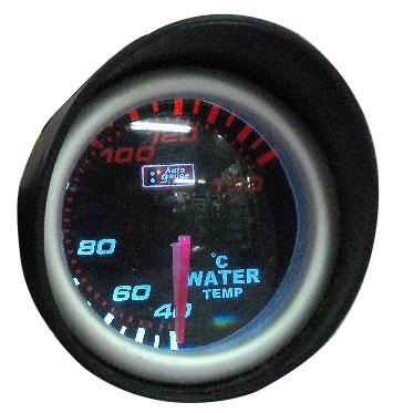 AUTO GAUGE WATER TEMPERATURE METER-SMOKE