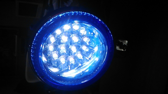 Universal Fog light-Blue