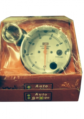 Auto guage RPM Meter with Shift Light