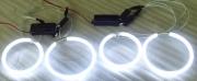 CCFL ANGEL EYES-WHITE-75mm PAIRno