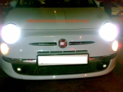 Fiat 500 head lightno